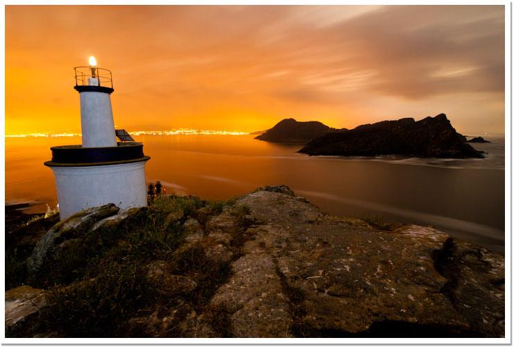 Noite nas Illas Cíes