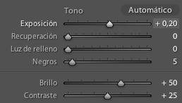 Ajustando el punto blanco en Lightroom