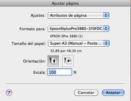 Eligiendo cuidadosamente el tamaño del papel en Adobe Lightroom
