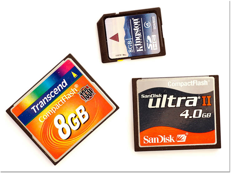 Tarjetas de memoria/memory cards
