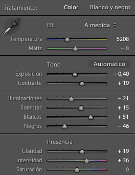Nuevos controles básicos de Adobe Lightroom 4