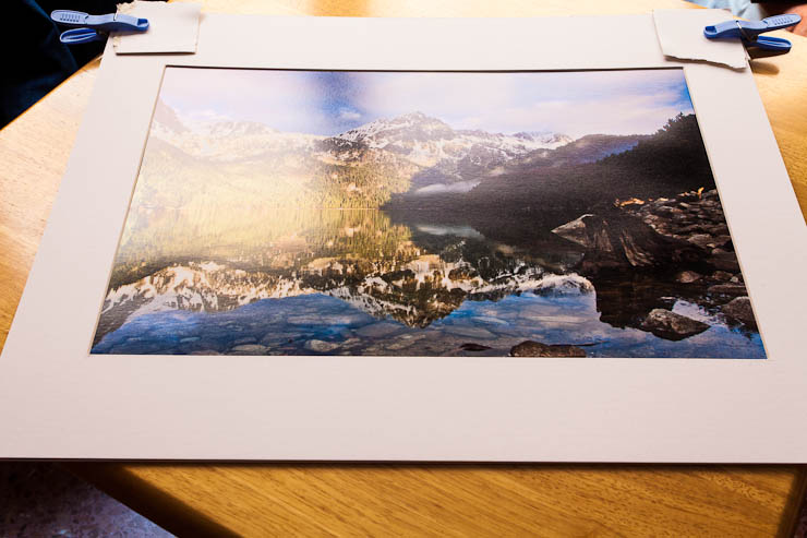 Creando un paspart para enmarcar nuestras fotos - Laminas infantiles para enmarcar ...