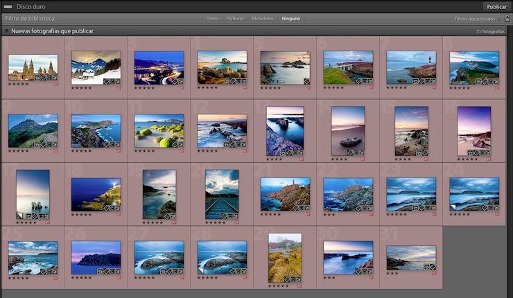 Fotos listas para ser publicadas del Lightroom al iPad