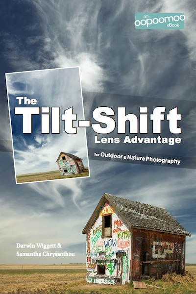 Portada del libro: The Tilt-Shift Lens Advantage for Outdoor & Nature Photography por Darwin Wigget & Samantha Chrysanthou