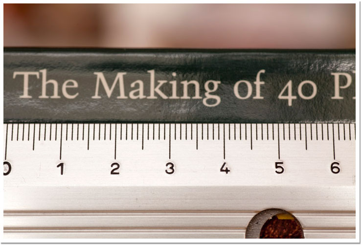 Ejemplo regla lente macro - 1 de 3