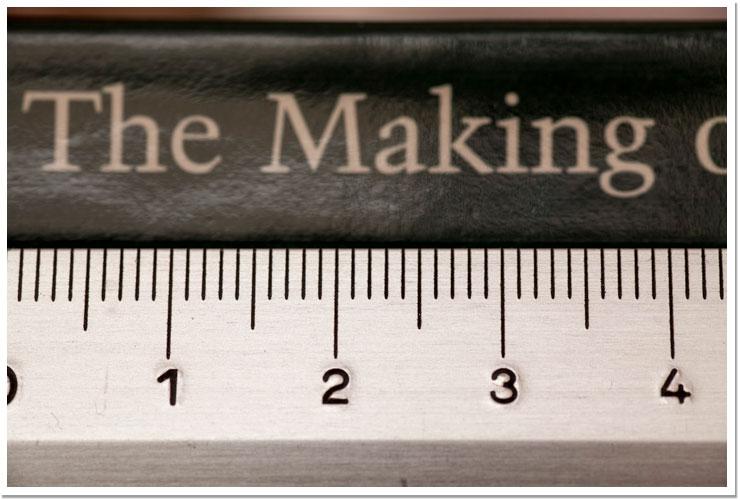 Ejemplo regla lente macro - 2 de 3