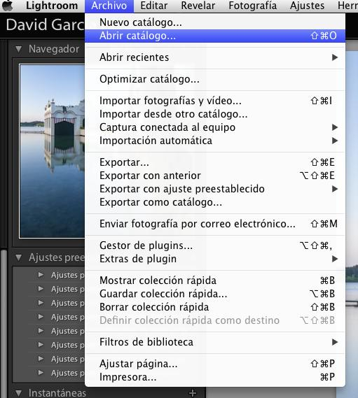 Migrando a Lightroom 5