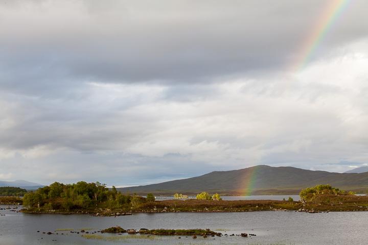 Arco Iris en Loch Bà