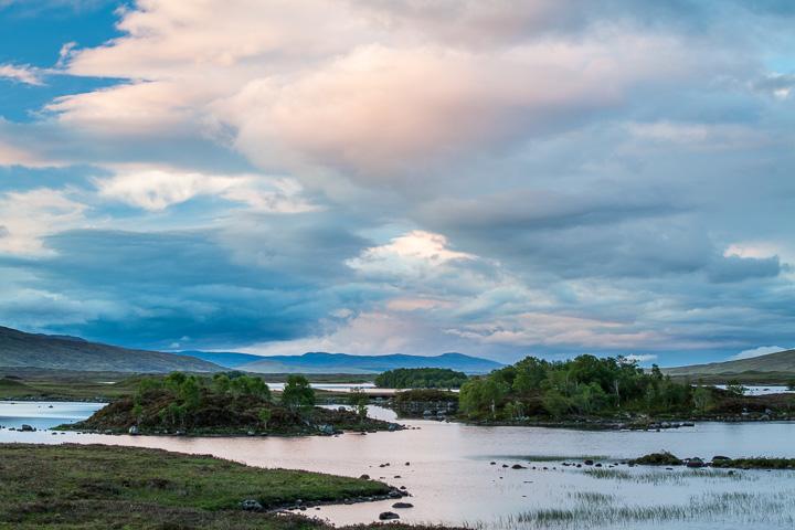 Puesta de Sol en Loch Bà