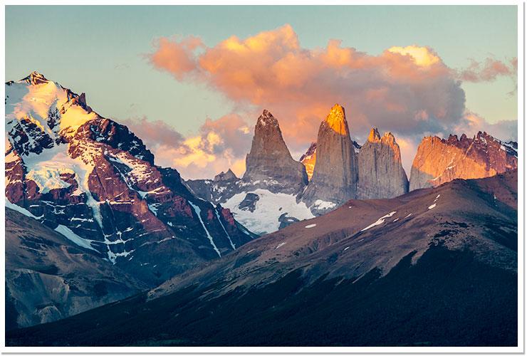 Amanecer en Torres del Paine