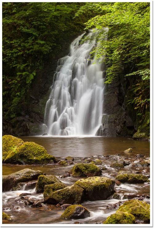 Cascada de Glenoe