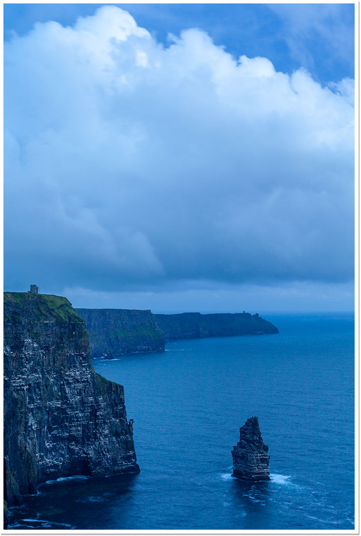 Hora azul en Cliffs of Moher