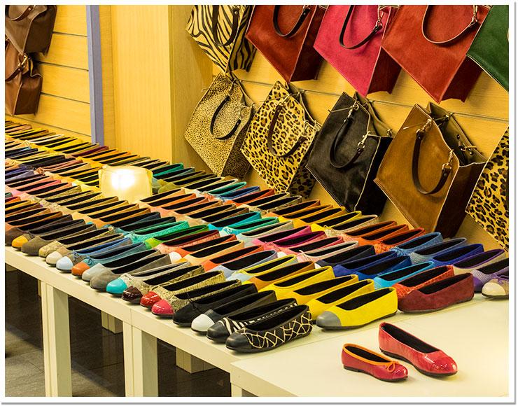 Zapatos y colores