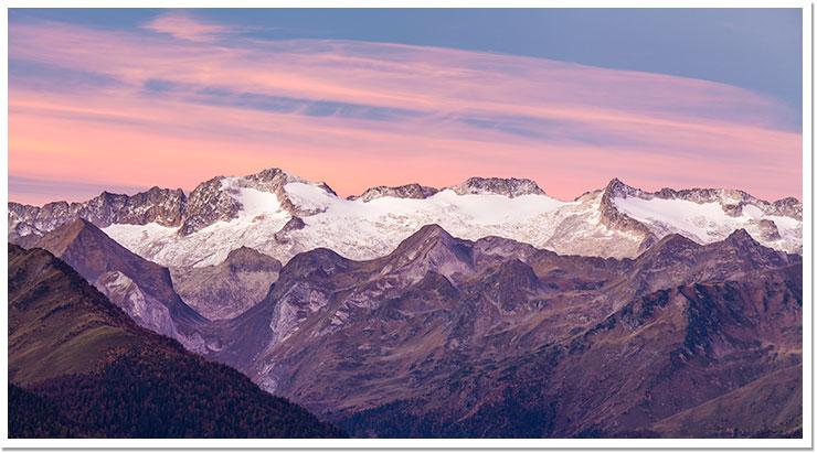 Amanece en Val d'Arán