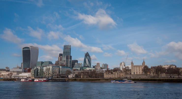 Panorámica del Thames