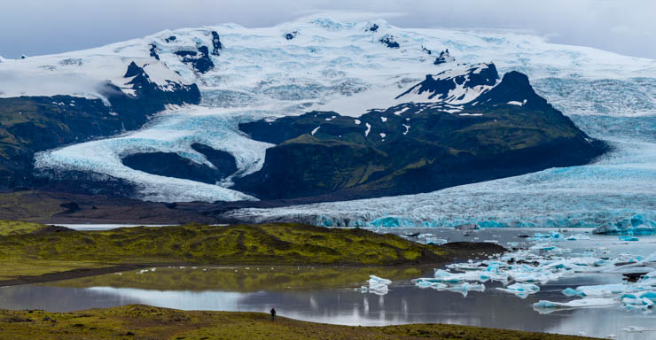 El fotógrafo y el glaciar