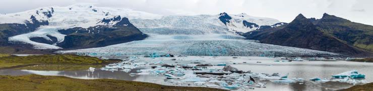 Lago glaciar de Fjallsárlón