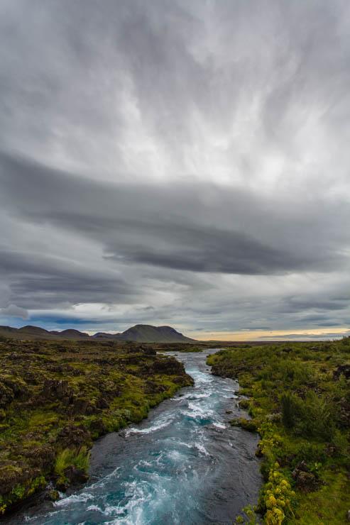 Camino a Þjófafoss