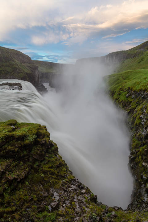 El spray de Gullfoss