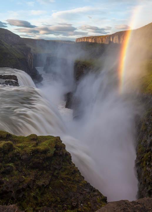 Arco Iris en Gullfoss