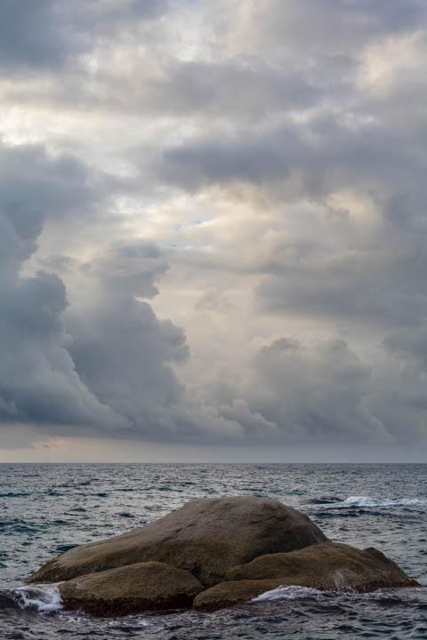 Día nublado en Costa Brava