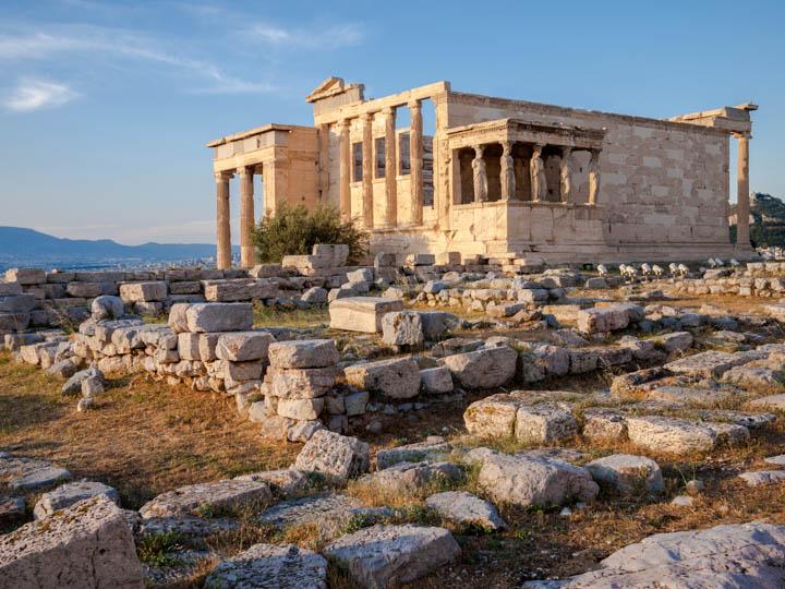 Santuario de Erecteión en la Acrópilis