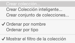 Escogiendo la forma de ordenar las colecciones