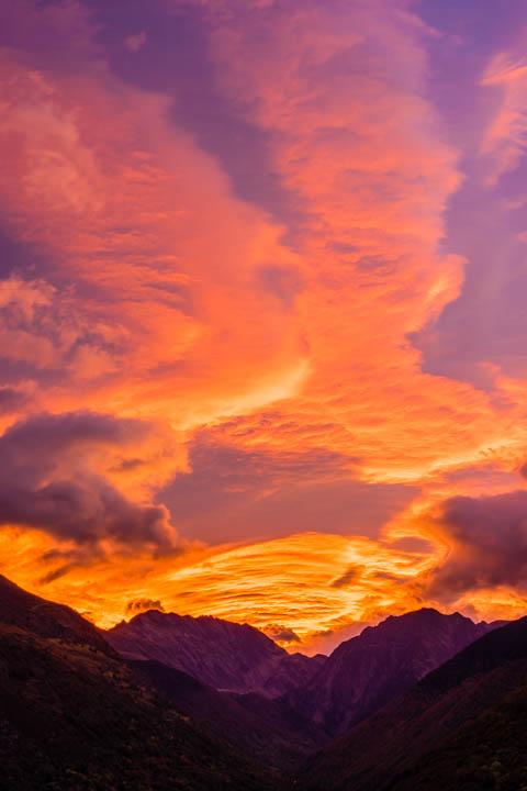 Amanecer en Val de Toran