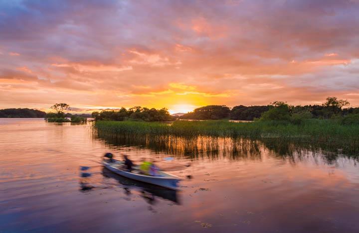 Botes en Lough Leane