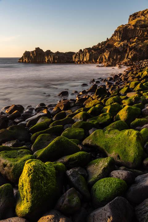 Anochece en la Playa de Bollullo