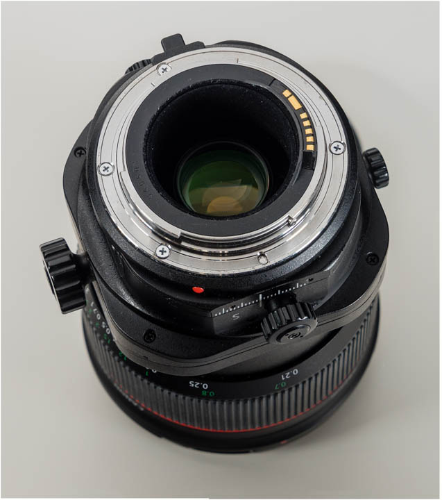 Canon 24mm TS-E Mark II