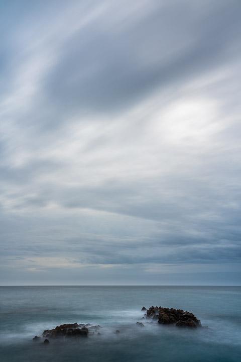 Nubloso amanecer en la Mar Menuda